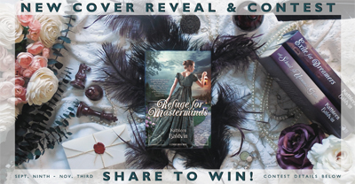 Cover Reveal Contest: Refuge for Masterminds, Stranje House #3