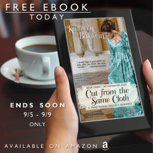 Cut from the Same Cloth is FREE 09/05 – 09/09/2018