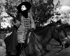 Margaret Lockwood as the Wicked Lady, 1945, courtesy Gainsborough Pictures