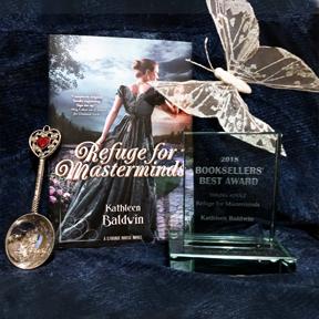 Refuge for Masterminds wins Bookseller's Best Award